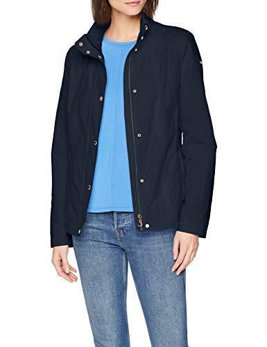 Geox W Annya Chaqueta, Azul (Blue Nights F4386), 34 (Talla del fabricante: 38) para Mujer