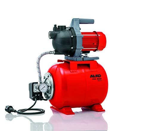 AL-KO Hauswasserwerk HW 600 ECO (580 W Motorleistung, 3.000 l/h, max. Fördermenge, 35 m max. Förderhöhe, 19 l Druckkessel)