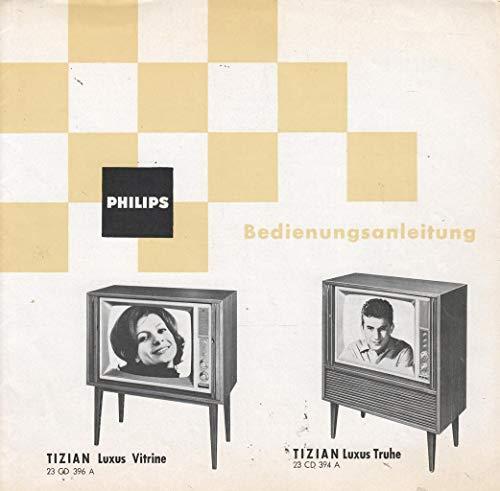 Philips Tizian Luxus Vitrine 23 CD 396 A Tizian Luxus Truhe 23 CD 394 A Bedienungsanleitung