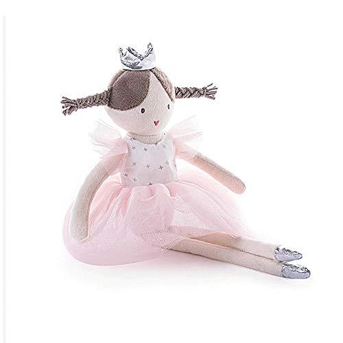Mädchen Ballett Mädchen Puppe Plüsch Spielzeug Ballerina-Puppe für kleine Mädchen Ballett Tanz Recital und Geburtstagsgeschenke (Pink)