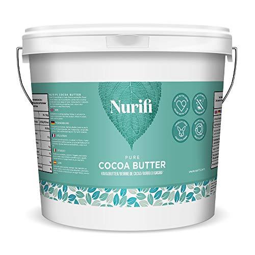 1 kg Manteca de Cacao – 100% puro, Raw & Natural ofrecen introductoria