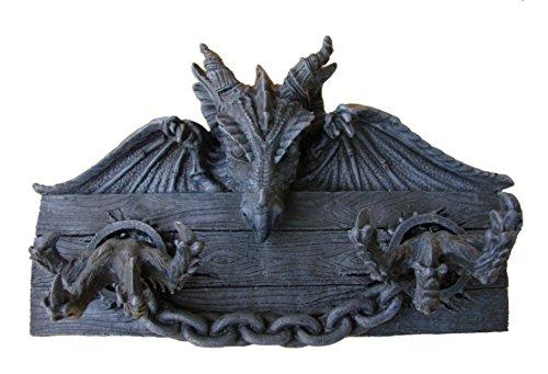 Schlüsselbrett Drache 31 cm Gothic Magie