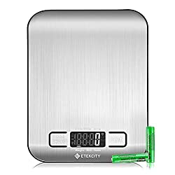 Image of Etekcity Food Scale,...: Bestviewsreviews