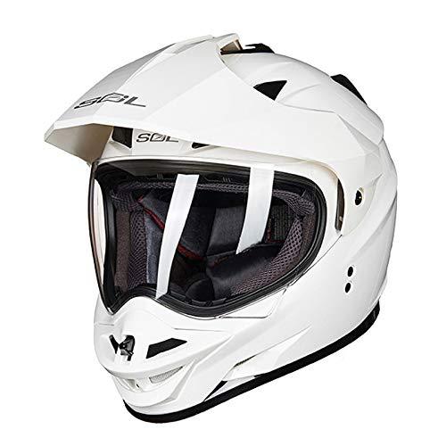 Yyou La Cara Llena del Casco de la Motocicleta del motocrós Bici...