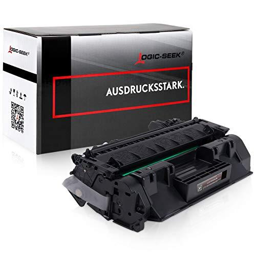 Logic-Seek Toner kompatibel zu HP CE505A 505A Laserjet P2035 2033 2034 2036 2037 N 2053 2054 2055 2056 2057 D DN X