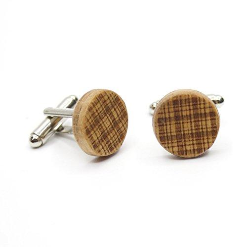 Gemelos de madera DCuadros. Colección de moda hombre: Gemelos de made