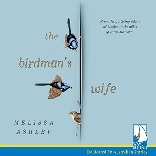 The Birdman's Wife audiobook cover art