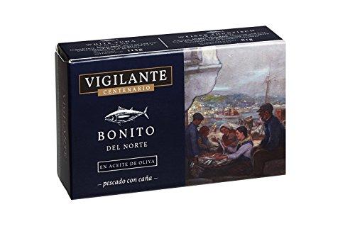 Vigilante Centenario Bonito del Norte en Aceite de Oliva - 5 Paquetes de 148 gr - Total: 740 gr
