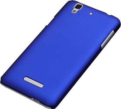 MOC Hard Back Case Matte Finish Protection Case For Micromax Yu Yureka - Blue