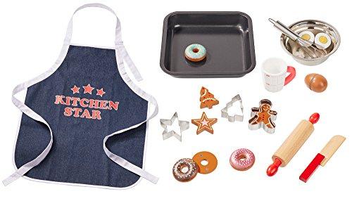 Howa Backset für Kinder mit Küchenschürze 18 TLG. 4884