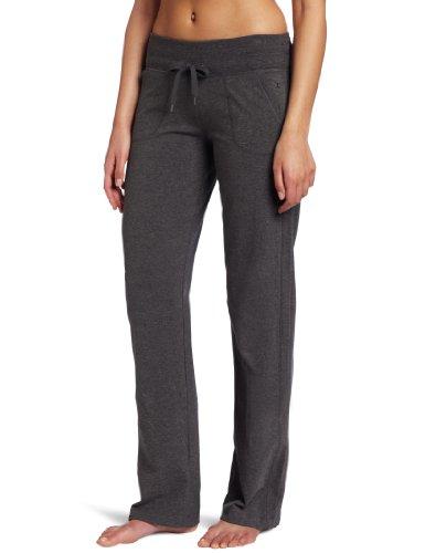 Danskin womens Straight athletic pants, Charcoal Heather, 1X US