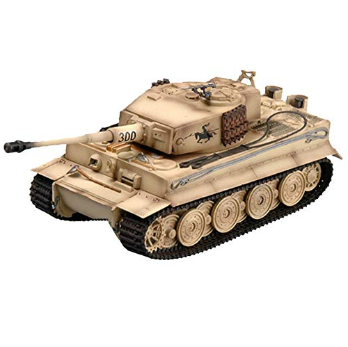 1/72 Chariot Plastikmodell, Militär Panzerkampfwagen VI Tiger I AUSF E Später 300 Deutschland Tank-Modell, 4.6Inch X 2Inch