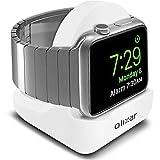 Olixar - Soporte para Apple Watch Series 4 / Series 3 / Series 2 / Series 1 (Compatible con Modelos de 44 mm, 42 mm, 40 mm y 38 mm), diseño Antideslizante, Color Blanco