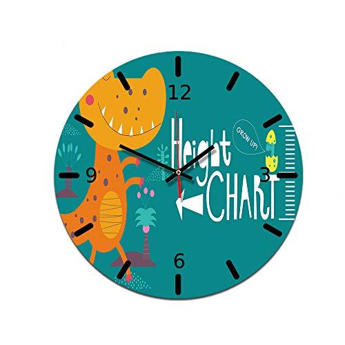LUOYLYM DIY Uhr Wanduhr Acryl Uhr Dekorative Uhr Stumm Bewegung Spiegel Wohnzimmer Ctt-50 28CM