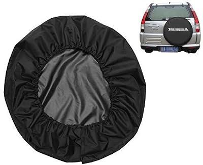 Moonet Spare Tire Cover Canvas Car Truck SUV Camper Honda CRV CR-V