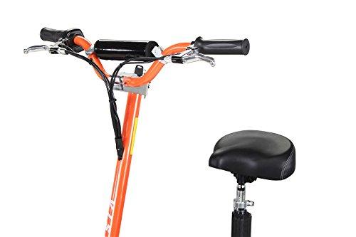 E-Scooter Roller Original E-Flux Vision mit 1000 Watt 36 V Motor Elektroroller E-Roller E-Scooter in vielen Farben (Orange) - 7