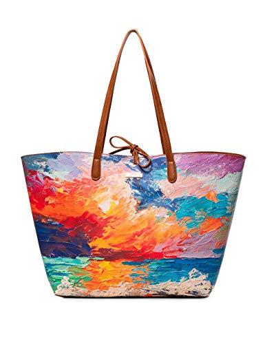 Desigual Bag Landscape Nimbus Capri Max Women - Borse a spalla Donna,...