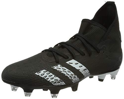 adidas Predator Freak .3 SG, Zapatillas de fútbol Hombre, NEGBÁS/FTWBLA/NEGBÁS, 40 2/3 EU