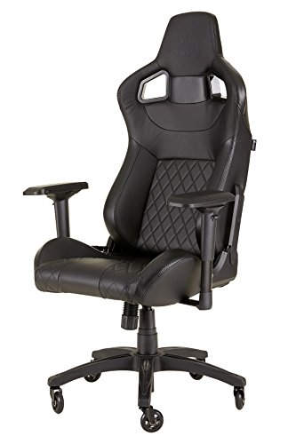 CORSAIR CF-9010011 WW T1 Gaming Chair Racing Design, Black chair Corsair gaming