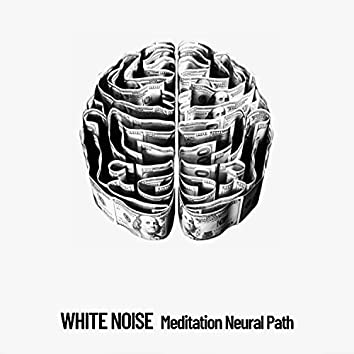 White Noise: Meditation Neural Path