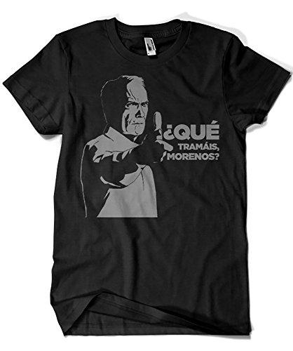1302-Camiseta Clint Eastwood - Gran Torino (MosGraphix) M