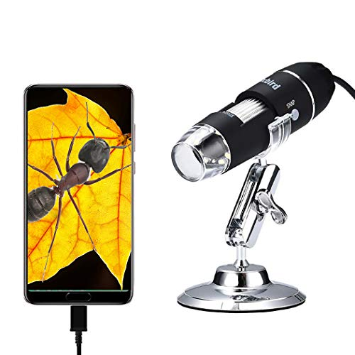 Oxbird50X-2000X, HD, USB Microscope, Microscope for Adult, Digital Microscopes, Android Phone (not iOS iPhone), Compatible with Mac Window 7/8/10/