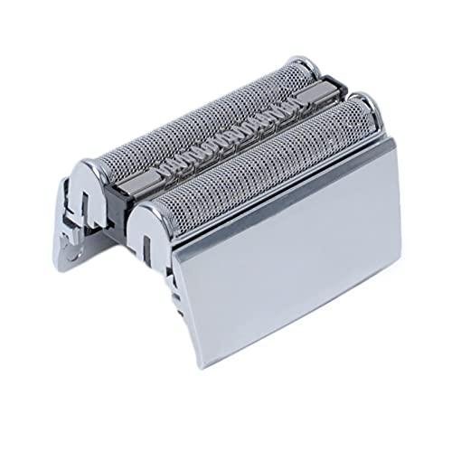 Poweka 52s Scherkopf für Braun Series 5 Elektrorasierer Kompatibel mit Rasierern 5040s, 5050cc, 5090cc, 5140s, 5145s, 5147s, 5030s, 5160s, 5190cc, 5195cc, 5197cc