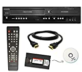 Magnavox VHS to DVD Recorder VCR Combo w/ Remote, HDMI (Renewed)