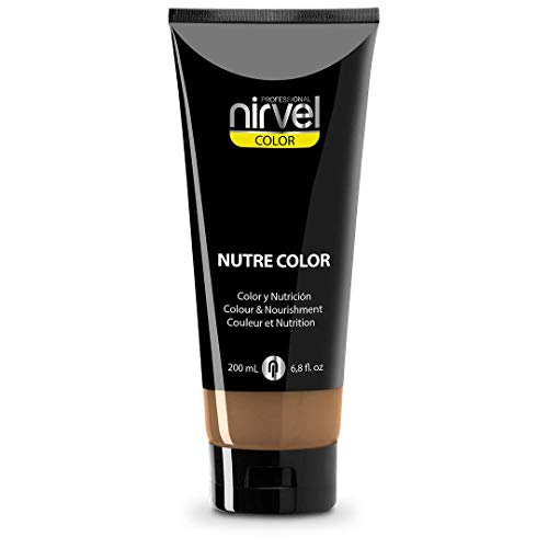 Nirvel Nutre Color Arena 200 mL Mascarilla Profesional - Coloración temporal - Nutrición y brillo