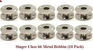 Singer Class 66 Metal Bobbin (10 Pack)