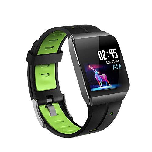 Zeerkeer Armband Fitnessuhr, IP67 wasserdichtes intelligentes Pulsmesser Nachrichtenerinnerung, intelligentes Armband mit Schrittzähler Kompatibel mit Android iOS Smartphone Fitness Tracker