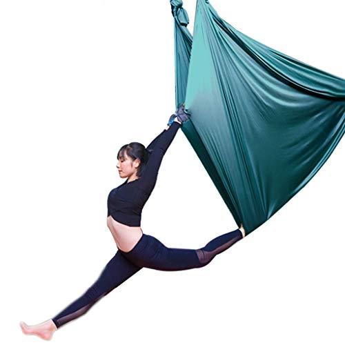 Yunyisujiao Lucht-yoga-hangmat in grote hoogte vliegen mensen indoor yoga-hangmat familie yoga-sling stretch-riem elastisch bed yoga-schommel