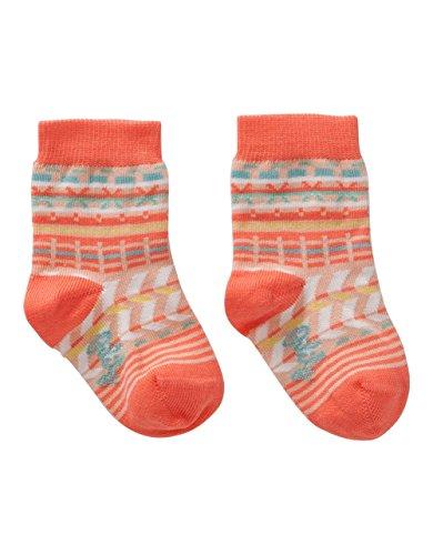 Oilily Mädchen Millie Socken, Mehrfarbig (Orange 18), 25-28 (Herstellergröße: s02)