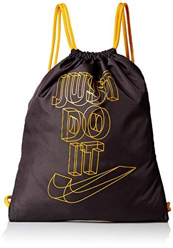 Nike SACCA Just Do It BA5991-082 Black Nero Giallo Yellow Unisex