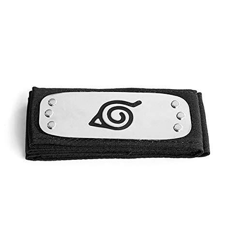 I3C Naruto Fascia per capelli Konoha Headband Uchiha Itachi Fascia per capelli Accessori per Cosplay Taglia unica per uomo Donna Bambini