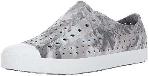 Native Jefferson Water Shoe, Dublin Grey/Shell White/Marble, 9 Men's M US