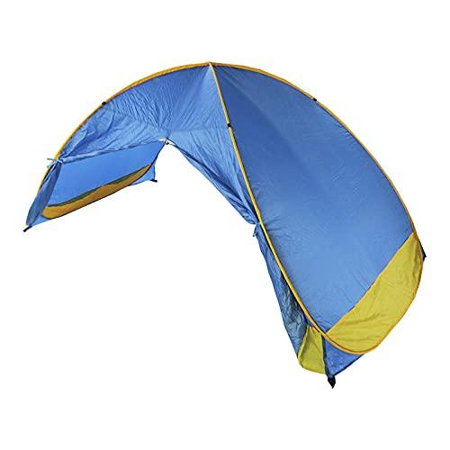Tienda De Playa, NiñOs Play Tent In Beach, Pop Up Portable Sun Shelter UPF 50+ VentilacióN De ProteccióN UV con Bolsa De Transporte Sin Fondo, Jugar Juegos De Arena En La Sombra En La Playa