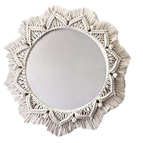 Espejos Pared Decorativos Macramé espejos pared  Marca Nicetruc