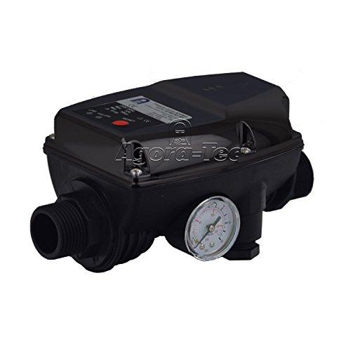Agora-Tec Pumpen Druckschalter AT-DW-5 ohne Kabel zur Pumpensteuerung für Kreisel-, Tauch- Tiefbrunnenpumpen mit Betriebsdruck von 10 bar, AT 003 001 003