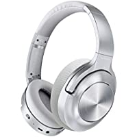 Vankyo C750 Over Ear Active Noise Cancelling Wireless Headphones (Silver)