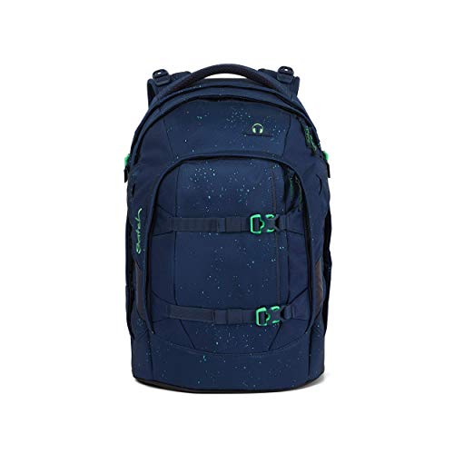 satch Pack Space Race, ergonomischer Schulrucksack, 30 Liter, Organisationstalent, Blau