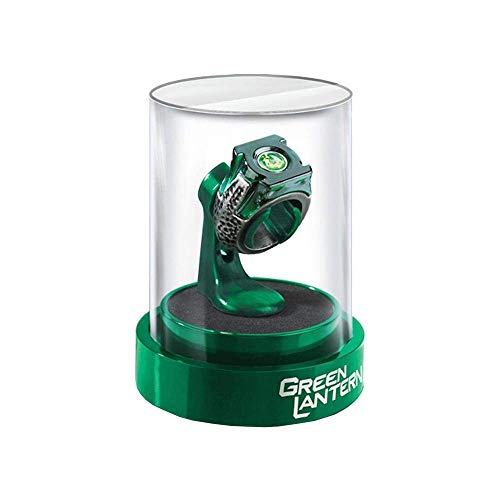 The Noble Collection Green Lantern Prop Ring & Display