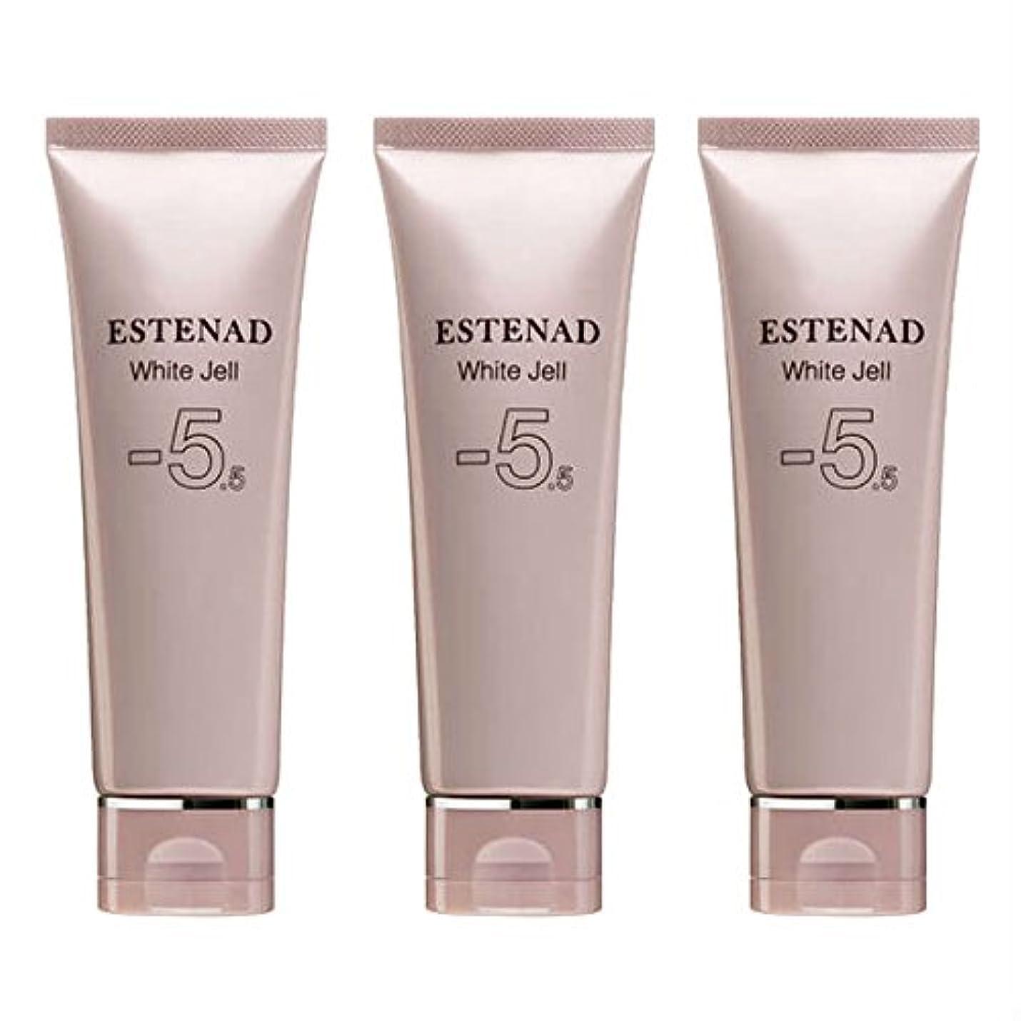 個性分岐する十代エステナード 薬用ホワイトジェル 70g 3本セット