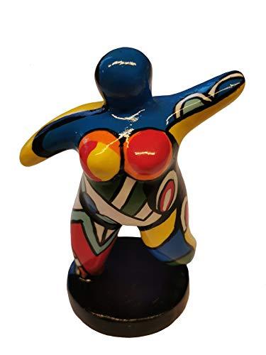 Hommage an Niki de Saint Phalle - Skulptur Figur Dicke Frau Nana Molly Mini #01