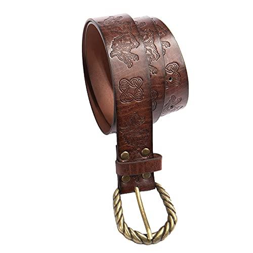 Medieval Belts Faux Leather Belt Mens Viking Belt Renaissance Belts...