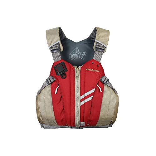 Stohlquist Men's Drifter Lifejacket (PFD)-DeepRed-XXL