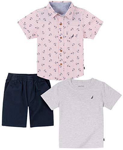Camisa Niño  marca Nautica Sets (KHQ)