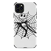 Jack Skellington Spider Web ナイトメアー・ビフォア・クリスマス アイフォン11/アイフォン11Pro/アイフォン11Pro Max/アイフォンXS Max/アイフォンXR/アイフォン7ウルトラファイバーPUレザー携帯電話ケース