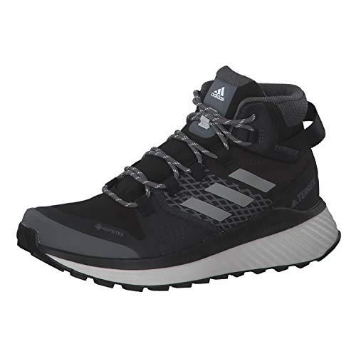 adidas Damen Terrex Folgian Hiker Mid GTX W Leichtathletik-Schuh, Kern Schwarz/Grau DREI F17 / Grau Tint, 38 EU