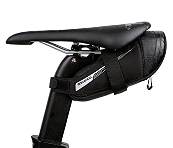 Roswheel Race Series 131432 Ultralight Bike Saddle Bag Bicycle Under Seat Pouch Cycling Wedge Pack for Road Bike 0.6 Liter Capacity